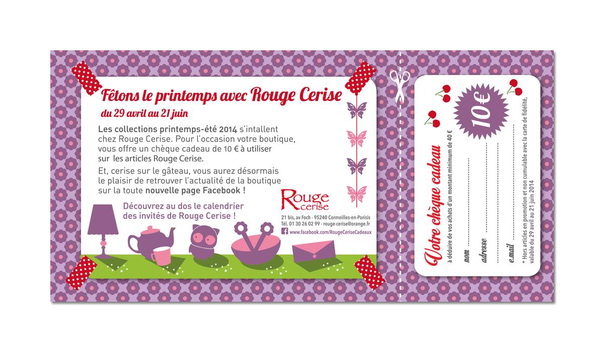 Flyer Rouge Cerise Recto